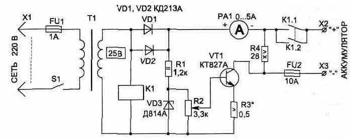 Зарядное устройство и восстановление аккумулятора